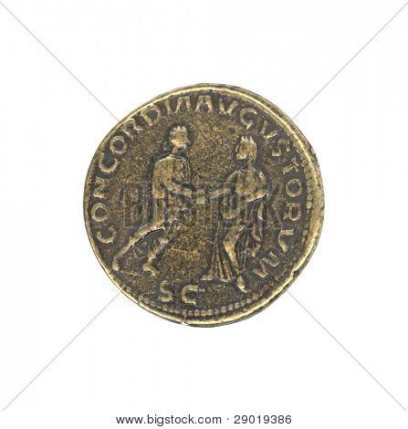 Roman antique coin