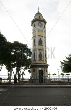 Clock Tower Malecon 2000 Guayaquil Ecuador