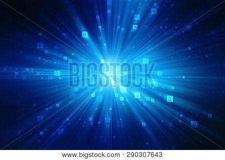 Binary Code Background, Digital Abstract Technology Background, Best Internet Concept Of Global Busi
