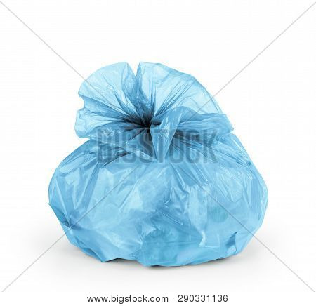 Rubbish Bag Isolated On A White Background