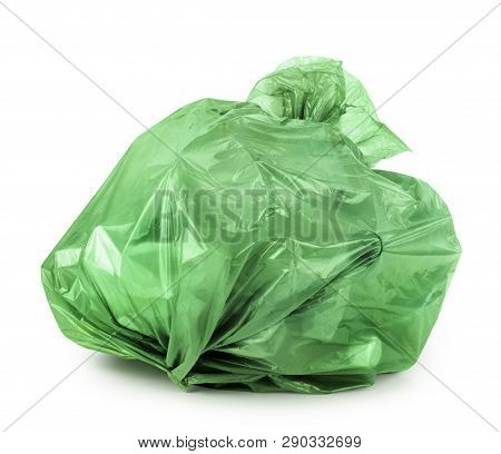 Trash Bag Isolated On A White Background