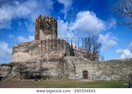 Bolkow, Poland - February 26, 2012: Medieval Castle In Bolkow. Lower Silesia.