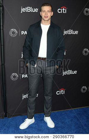 LOS ANGELES - MAR 17:  Oliver Stark at the PaleyFest -