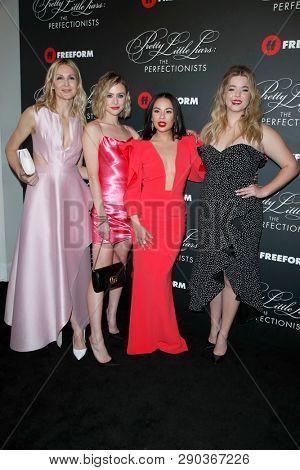 LOS ANGELES - MAR 15: K Rutherford, Hayley Erin, J Parrish, Sasha Pieterse at the