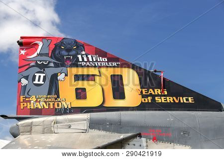 Mcdonnell Douglas F-4 Phantom Ii In Teknofest Istanbul