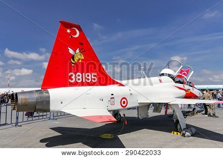 Northrop T-38 Talon In Teknofest Istanbul