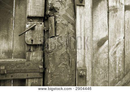 Antique Rusty Door