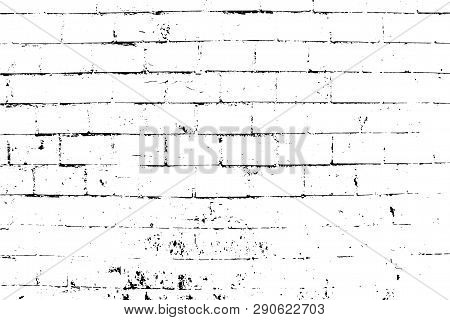 Abstract Background. Vector Bricks And Stones Texture. Old Brick Wall. Overlay Illustration Over Any