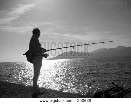 Fisherman In Italy