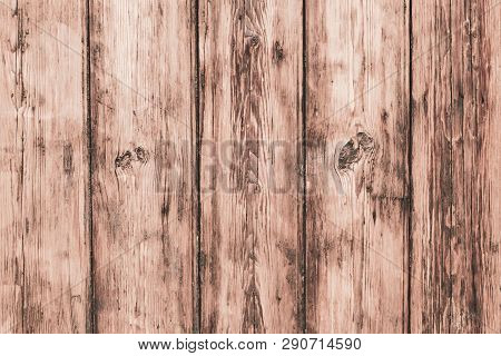 Old White Wood Texture Background. Decorative Wooden Pattern. Retro Shabby Rough Wooden Table. Grung