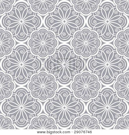Seamless floral Pattern, Vektor Hintergrund