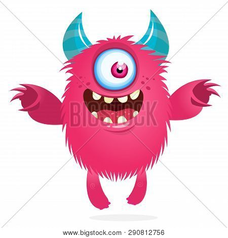 One Eye Monster Images Illustrations Vectors Free Bigstock