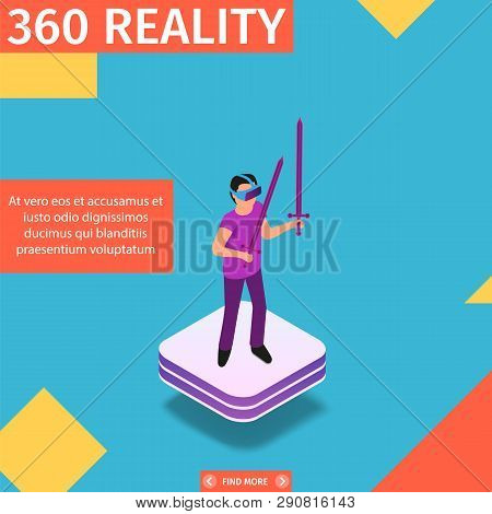 360 Reality Square Vector & Photo (Free Trial) | Bigstock