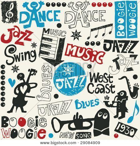 jazz doodle mix