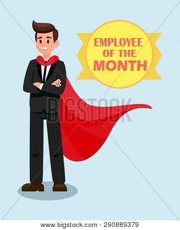 Male Boss Red Cape Vector & Photo (Free Trial) | Bigstock