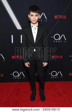 LOS ANGELES - MAR 19:  Ian Alexander arrives for the Netflix