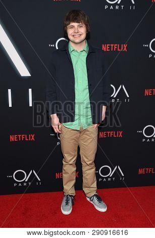 LOS ANGELES - MAR 19:  Brendan Meyer arrives for the Netflix