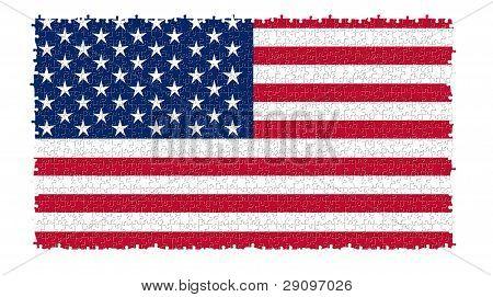 The Usa Nation Flag
