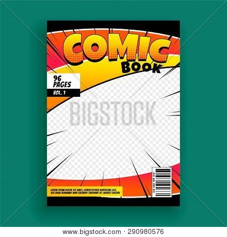 Comic Book Magazine Vector Photo Free Trial Bigstock