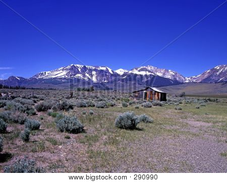 Cabin On The Prairie