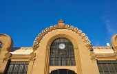 Tarragona Mercado Publico central market in Catalonia modernist style poster