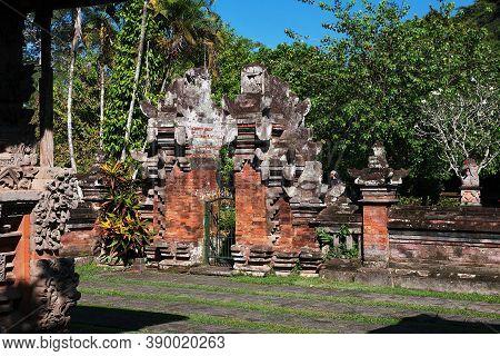 Taman Ayun Vintage Temple On Bali, Indonesia