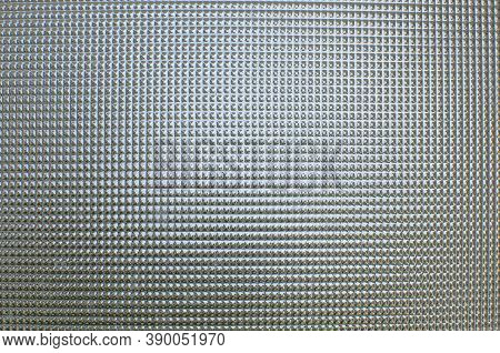 White Corrugated Metal Or Zinc Texture Surface Or Galvanize Steel In The Vertical Line Background Or