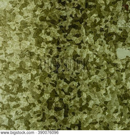 Khaki Texture Background. Watercolor Camouflage Illustration. Grey Military Textile. Modern Commando