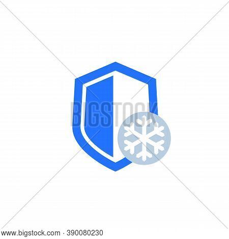 Frost-resistance, Cold Resistant Icon, Eps 10 File, Easy To Edit
