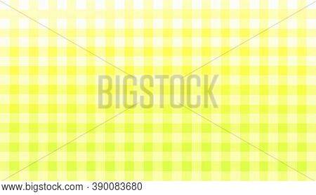 Yellow Green White Checkered Background. Space For Graphic Design And Creative Ideas. Checkered Text