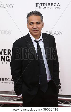 NEW YORK-NOV 12: John Ortiz attends the premiere of