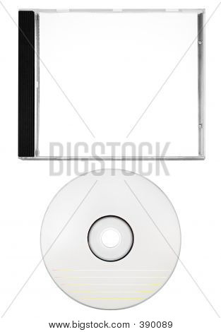 Disc Labeling - Cover And Blank Disc (w/ Path)