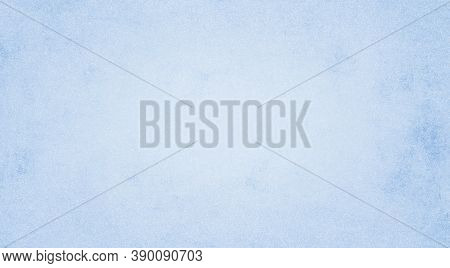 Pale Blue Paper Texture Background, Kraft Paper Horizontal With Unique Design Of Paper, Soft Natural