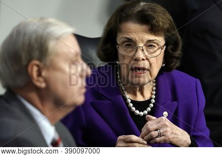 Washington Dc, 15 October 2020, Senate Judiciary Committee Chairman Sen. Lindsey Graham, R-s.c., And
