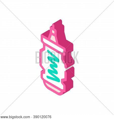 Gas Centrifuge For Uranium Enrichment Isometric Icon Vector Illustration