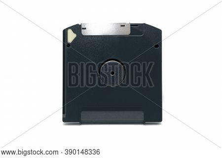 Super Floppy Disk, Isolated On White Background, Clipping Path Stock Photo.
