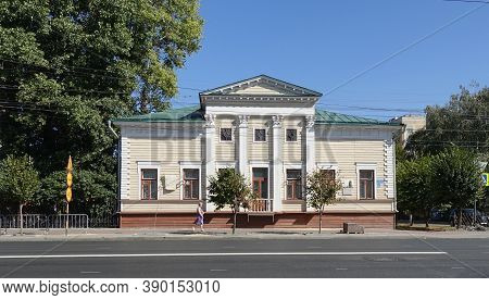 Tambov, Russia. September 5, 2020 House-museum Of The Famous Diplomat G.v. Chicherin In Tambov