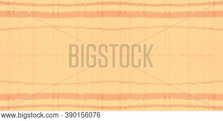 Autumn Tartan Pattern. Watercolour Plaid Border. Wool Squares For Tile Print. Seamless Yellow Tartan