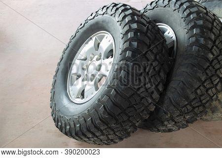 Off-road Mud Terrain Tires For All-terrain Vehicles.