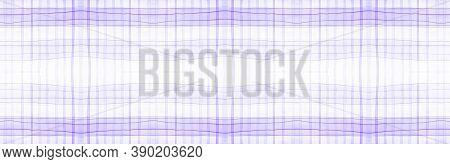 Purple Flannel Checks. Watercolour Stripes Repeat. Modern Gingham Ornament. Seamless Flannel Checks.