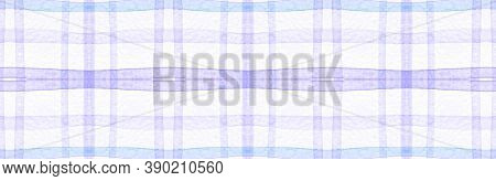 White Flannel Checks. Watercolour Stripe Texture. Fashion Checkered Wallpaper. Seamless Flannel Chec