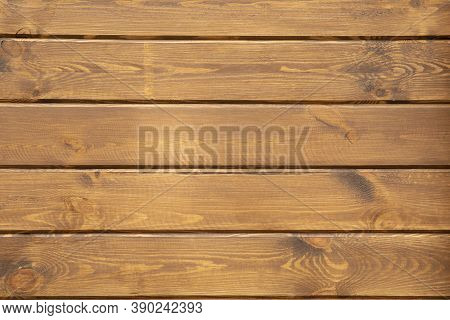 Texture Of Natural Wooden Planks Close Up