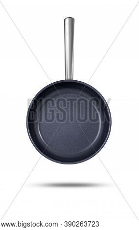 Frying Pan, Isolated On White Background. Pan!