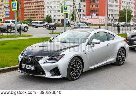 Novyy Urengoy, Russia - June 26, 2020: High Performance Car Lexus Rc F (xc10) In The City Street.