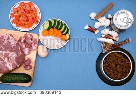Dog Food Includes Dry Pellets, Treats And Canned Foods Along With A Natural Diet Of Fresh Meat, Fish