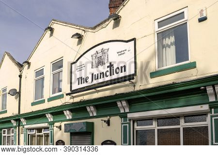 Hexthorpe, Doncaster, England - October 7, 2020. The Junction (a Community Advice And Drop-in Centre