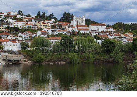 Arripiado Is A Village Of The County Of Chamusca Located On The Left Bank Of The Tagus River In Port