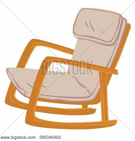Comfortable Rocking Chair, Furniture For Home Interior Design