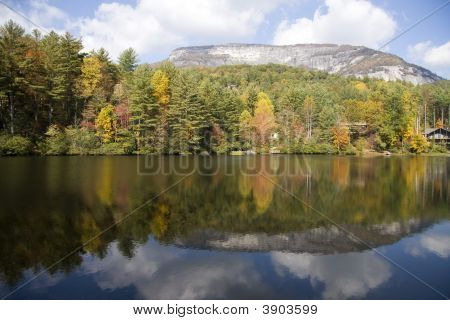 Mountains And Lake Reflections