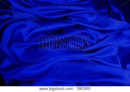 blau satin